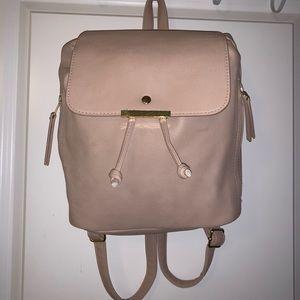 Drawstring pink backpack